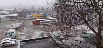 Сняг в Харманли