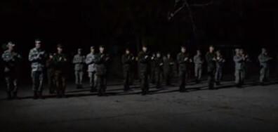 """Курсанти от Факултет """"Артилерия, ПВО и КИС"""" - гр. Шумен подкрепят българските медици"""