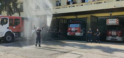 Пенсионирането на пожарникар от Враца