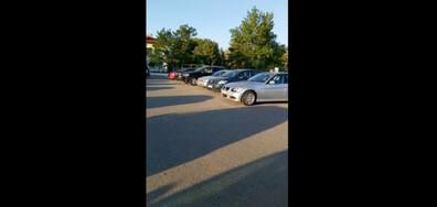 Системно паркиране на общинско игрище