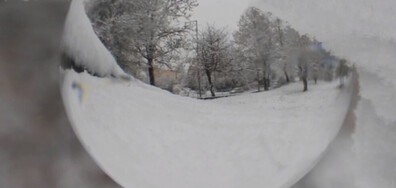 Честит първи сняг от Разград