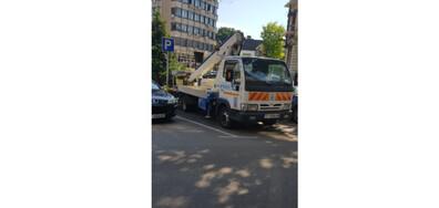Неправилно паркиране(общински автомобил)