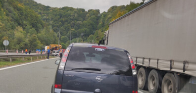 "Задръстване на автомагистрала ""Хемус"""