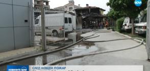Две деца в болница след голям пожар в Пловдив (ВИДЕО)