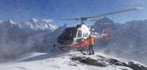 Хеликоптерът е в готовност да търси Боян Петров (ВИДЕО+СНИМКИ)