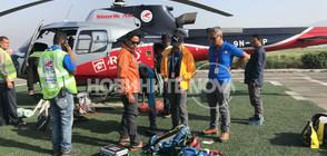 Хеликоптерите спряха временно издирването на Боян Петров (ВИДЕО+СНИМКИ)