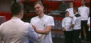 Иван напусна Hell's Kitchen България