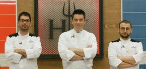 Филип и Дани Спартак един срещу друг в големия финал на Hell's Kitchen България
