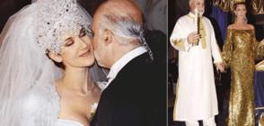 Най-щурите сватбени рокли на звездите (ГАЛЕРИЯ)