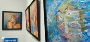 Художникът Кирил Аврамов представи дебютната си изложба