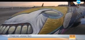 Кои са хората, превърнали самолет в графити платно? (ВИДЕО)