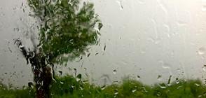 Опасност от интензивни валежи и градушки в следващите дни