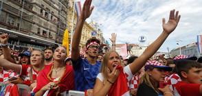 ВЪПРЕКИ ЗАГУБАТА: Еуфория, гордост и буйни празненства в Хърватия (ВИДЕО)