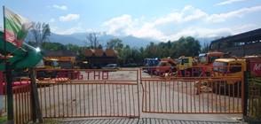 Разследващи иззеха документи от строителна фирма (ВИДЕО+СНИМКИ)