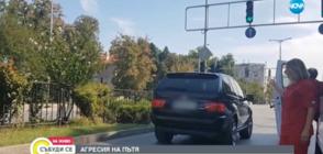 Шофьор на джип отрича да е удрял жена на светофар в Пловдив