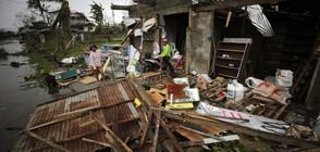 "Супертайфунът ""Мангхут"" парализира Хонконг (ВИДЕО)"