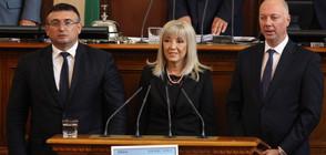 """КАБИНЕТЪТ """"БОРИСОВ"""" 3: Тримата нови министри се заклеха (ВИДЕО+СНИМКИ)"""