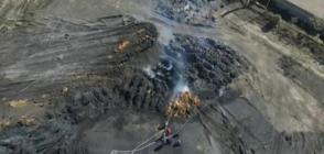 ОГНЕН ФРОНТ: Над 24 часа битка с огъня в ТЕЦ-Сливен (ВИДЕО+СНИМКИ)