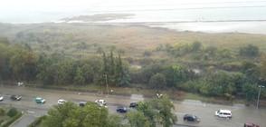 ПОД ВОДА: Как се възстановяват в Бургаско след голямата буря?