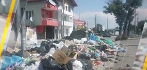 Незаконно сметище зарина полицейски участък в Пловдив (ВИДЕО)