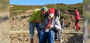 Как Теди, която не може да ходи, покори връх Ботев (ВИДЕО)