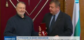 Признание за Васил Михайлов: Големият актьор с отличие за ролите си в Театъра на армията