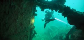 Откриха останки от антични кораби и керамика в Егейско море