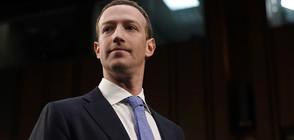 """Акционери искат да свалят Зукърбърг от компанията """"Facebook"""""""