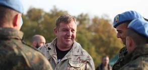 Каракачанов: Българската армия ще съществува, защото има доблестни воини