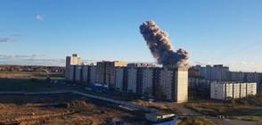 Най-малко двама убити при взрив в завод за пиротехника в Русия (ВИДЕО)