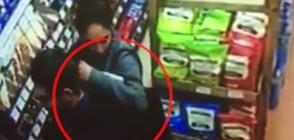 ДРЪЖТЕ КРАДЕЦА: Системно ограбват магазин в София (ВИДЕО)
