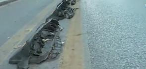 Защо части от нови велоалеи се разпадат? (ВИДЕО)