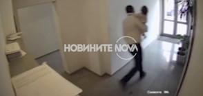 САМО ПО NOVA: Охранителна камера показва бягството на мъжа с детето (ВИДЕО)