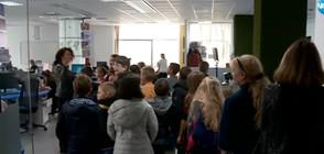 МАЛКИТЕ БУДИТЕЛИ: Ученици заеха местата в Новините на NOVA