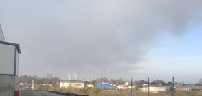 Овладяха пожара на депото за отпадъци край Русе (ВИДЕО)