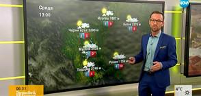 Прогноза за времето (07.11.2018 - сутрешна)