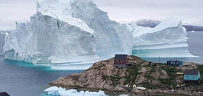 Откриха кратер с големината на Париж под ледовете на Гренландия (ВИДЕО+СНИМКИ)