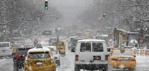 Снеговалеж парализира наземния транспорт в Ню Йорк