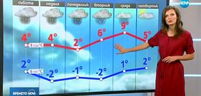 Прогноза за времето (17.11.2018 - обедна)