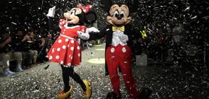 92 СВЕЩИЧКИ НА ТОРТАТА: Първите анимационни герои Мики и Мини Маус празнуват рожден ден (СНИМКИ)