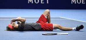 Зверев покори Лондон и не позволи на Джокович да изравни рекорда на Федерер (ВИДЕО)