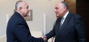 Министърът на въшните работи на Египет е на посещение у нас