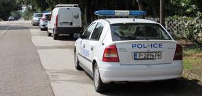 """Мъж се барикадира в дома си в столичния квартал """"Надежда"""" (ВИДЕО)"""
