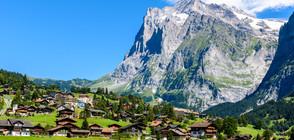 КЪС ОТ РАЯ: Красотата на алпийското градче Гринделвалд (ГАЛЕРИЯ)