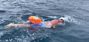 Най-добрият ни плувец Петър Стойчев се прибира