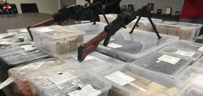 Откриха рекорден брой оръжия и боеприпаси в гараж в София (ВИДЕО+СНИМКИ)