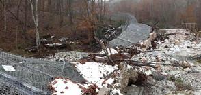 Част от оградата по границата с Турция отново падна (ВИДЕО)