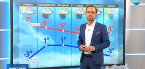 Прогноза за времето (08.12.2018 - обедна)