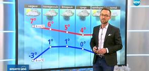 Прогноза за времето (09.12.2018 - обедна)