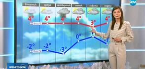 Прогноза за времето (10.12.2018 - централна)
